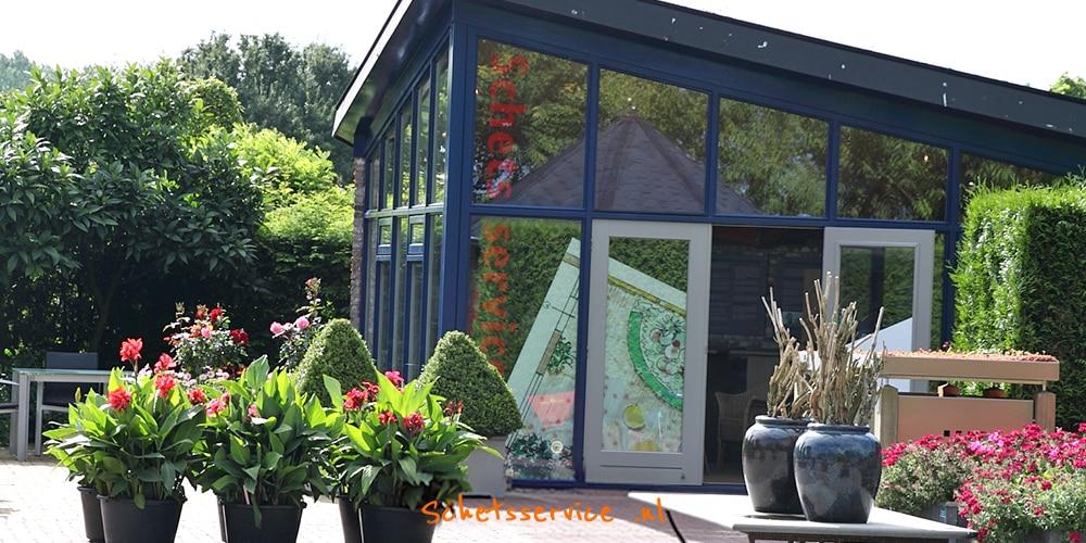 Schetsservice afspraak mooie tuin in Appeltern