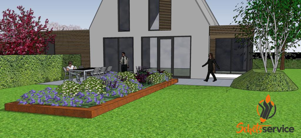 SketchUp tuin